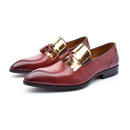 Feet Sets Comodo Winered Fashion Scarpe NTUMT of Traspirante England Casual Outdoor Pointed wv7fA7qF