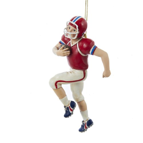 Kurt Adler 5-Inch Football Boy Christmas Ornament