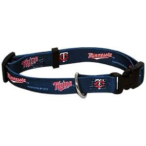 Hunter MFG Minnesota Twins Dog Collar, Large