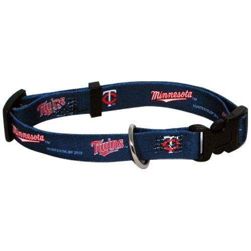 Hunter MFG Minnesota Twins Dog Collar, Extra Small