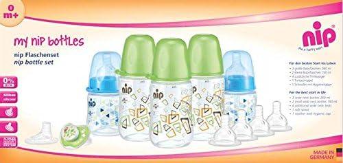 مجموعة زجاجات ان اي بي للاولاد - ازرق/اخضر - 390188