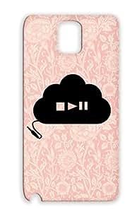 Cloud Play Online Sound Geek Music Saving Band Song DJ Black Cloud Case For