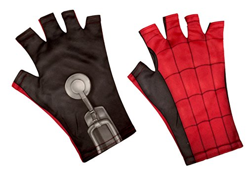 Women Halloween Costumes Homemade (Spider-Man Homemade Suit Child Fingerless Gloves)