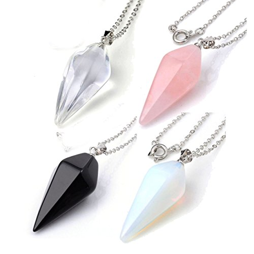 Top Plaza Healing Pendants Necklace