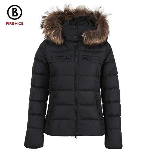 - Bogner Fire + Ice Lela3-D Down Ski Jacket with Real Fur Womens Black