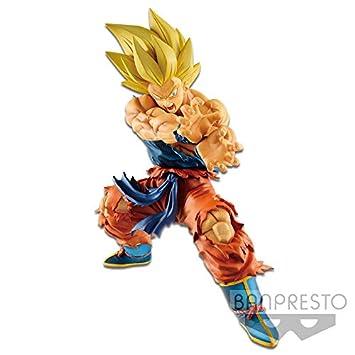 Banpresto-Son Goku Kamehameha Figura 17 cm Dragon Ball Dragonball ...