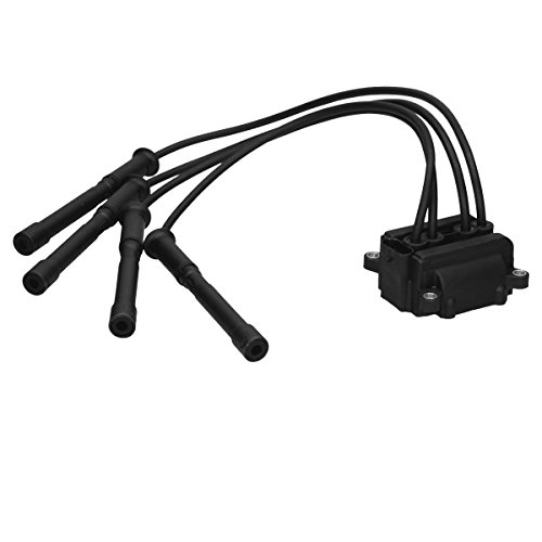 ECD Germany ZM375 Ignition Coil Ignition Module Ignition Cable Set Ignition Manual 4-pin: