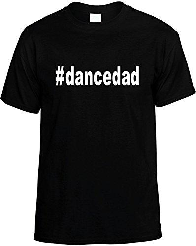 Signature Depot Mens Funny T-Shirt Size XL (#dancedad (Hashtag Tee Shirt) Dance Dad) Unisex Tee Black