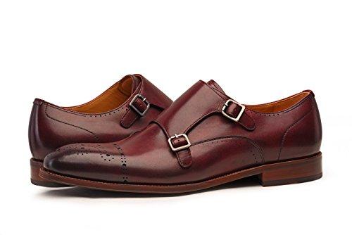 1ed170bd3917 Jual COMOTEK Men s Classic Double Monk Strap Full Grain Leather ...