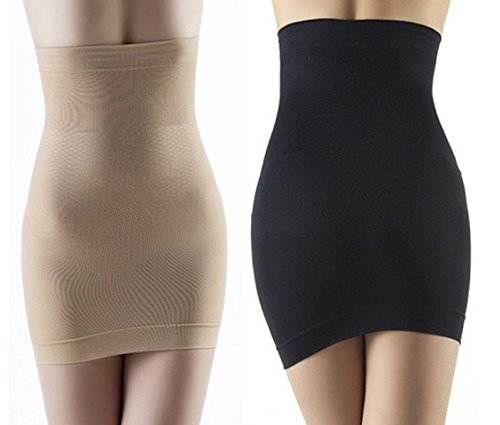 Waist trimmer belt Beige M With Arm Shaper - 5