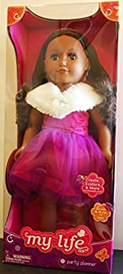 """My Life As Party Planner Baby 18"""" Pretend Play Doll African American Hispanic Ethnic"""