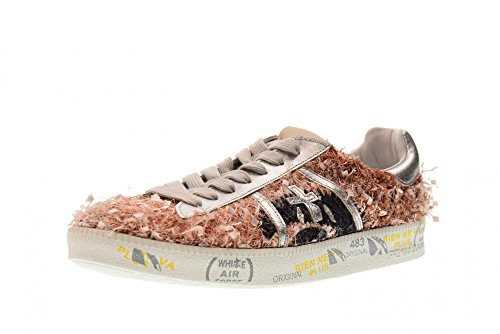 d Chaussures Baskets Premiata Andy Rosa Rose 3090 Femme IBwxq7CF