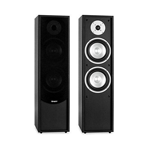 auna – Linie-300-BK, vloerstaande luidsprekers, vloerstaande luidsprekers, luidsprekerkasten, hifi vloerstaande…