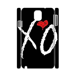 Make Your Own Personalized Cell Phone Case for Samsung galaxy note 3 N9000 3D Cover Case - The Weeknd XO HX-MI-024277