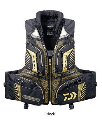 ダイワ(DAIWA) トーナメント バリアテック 枕つきサイバーフロート DF-3108T XXL ブラック B07GSJMWHG