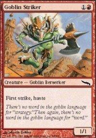 Magic: the Gathering - Goblin Striker - Mirrodin - Foil