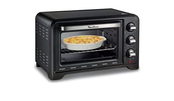 Horno Eléctrico, 19 L 1600W Color Negro-Moulinex OPTIMO 19L OX4448 ...