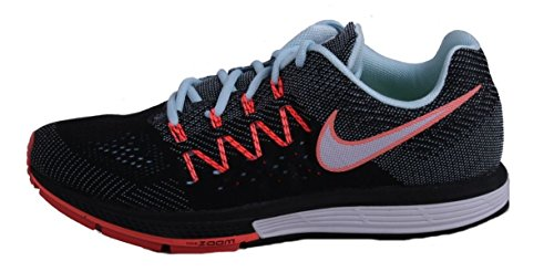 Nike Wmns Air Zoom Vomero 10 (W), Zapatillas de Running Para Mujer Blanco (Ice / White-Black-Hot Lava)