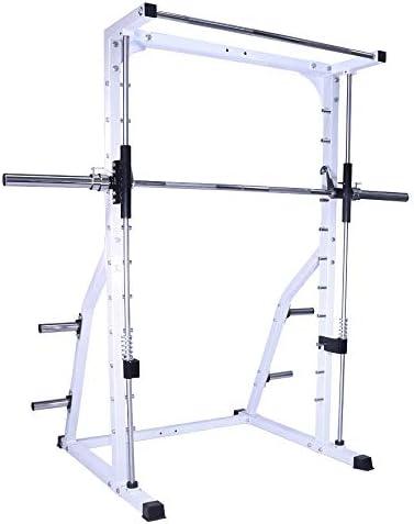 Amazon.com: deltech Fitness Linear Bearing Smith máquina con 245 Olímpico  Lb. Peso Set: Sports & Outdoors