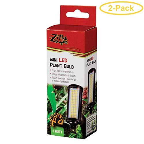 (Zilla Mini LED Plant Bulb 5W - Pack of 2)