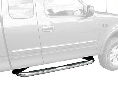 F150 Super Ld Cab (TYGER Custom Fit 97-03 F150/250 LD Super Cab/97-98 3Dr Stainless Steel 3