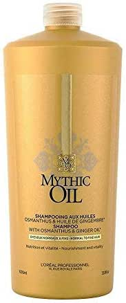 L'Oreal Professionnel Mythic Oil Shampoo For Normal To Fine Hair 250 mililiters (8.5 fl oz)