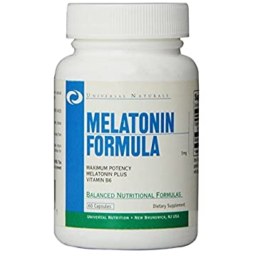 Melatonin Sleep Support Supplement – More Restful and Deeper Sleep with Vitamin B6 for Maximum Absorption