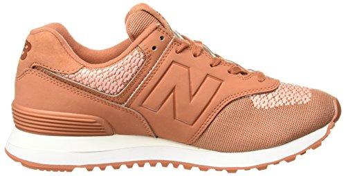 Nuovo Equilibrio Wl574fad Sneaker Damen Orange