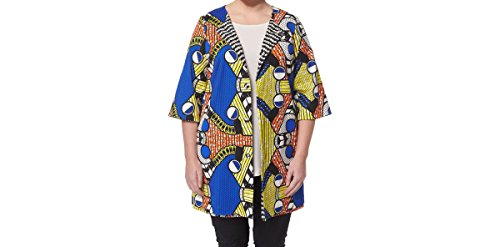 Marina Rinaldi Women's Fila Printed Belted Jacket 20W / 29 Multicolor