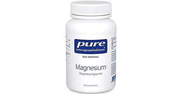 Magnesio (Glicinato) 90 cápsulas de Pure Encapsulations: Amazon.es: Salud y cuidado personal