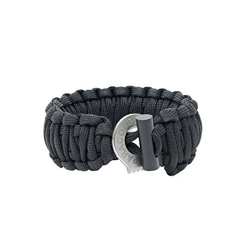 Men's Paracord Bracelet With Firestarter & Braided - Paracord Survival Bracelet - Survival Jewelry with Braided Firestarter By Paracord Planet - Military Grade Men's Bracelet, Paracord bracelet military - Premium -