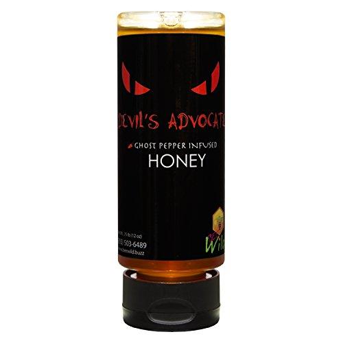 Bee Wild Devil's Advocate Honey 12 ounce - Honey Mustard Habanero