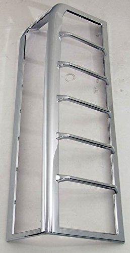 (Avanzato Hummer H3 Chrome Tail Light Covers 2006, 2007, 2008, 2008, 2009, and 2010 H3)