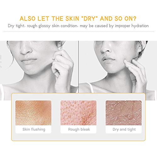 41TOp9aYKlL - 24k Pure Gold Foil Essence Serum Anti-Wrinkle Anti-Aging Serums For Reducing Fine Lines Brightening Skin Tone Anti-Oxidant Nourishing Whitening Firming