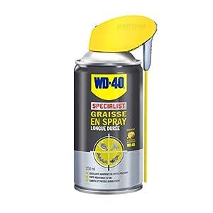 WD-40 Specialist • Graisse en Spray • Spray Double Position • Longue Durée • Protection contre la corrosion…