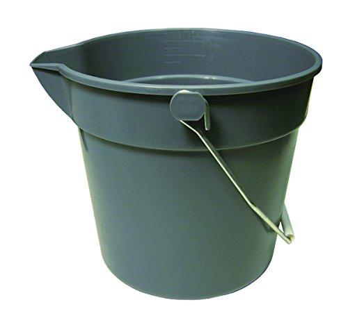 (Update International UPP-10 10 Quart Plastic Utility Pail, Polypropylene (PP) Plastic)