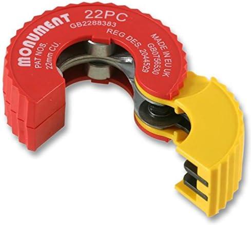 22 mm Schnittkapazit/ät 22 mm Schnittkapazit/ät max 22 mm Auto-Kupferrohrschneider