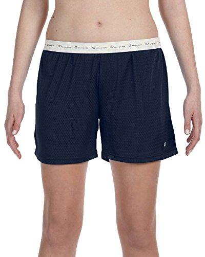 Champion Ladies' Active Mesh Shorts, Nvy, (Wholesale Ladies Short)
