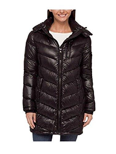 Andrew Marc Ladies' Long Down Jacket (XL, Black)