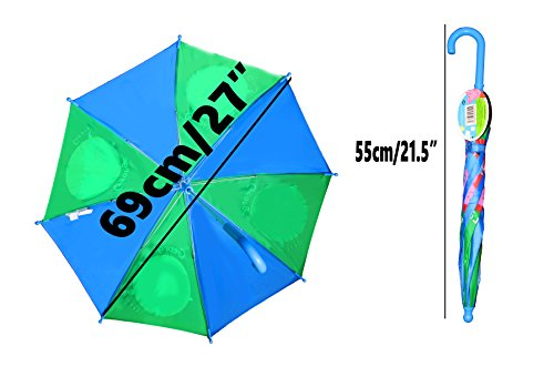 Adorable Peppa Pig and George Pig Vibrant Children's Umbrellas! (BLUE) by Peppa, Pig (Image #3)