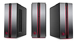 HP OMEN 870 Intel Core i7-7700K 4.2GHz 8MB Cache/2TB 7200RPM + 120GB-SSD/16GB DDR4 SDRAM/1x GTX1080 8GB GDDR5X/Windows 10 Gaming Desktop