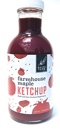 Ketchup Farms (Baird Farmhouse Maple Ketchup, 12 oz made with Organic 100% Pure Vermont Maple Syrup)