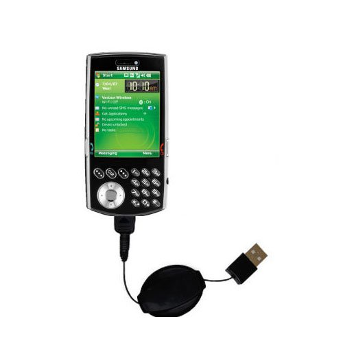 - USB Power Port Ready retractable USB charge USB cable wired specifically for the Samsung SCH-i760 and uses TipExchange