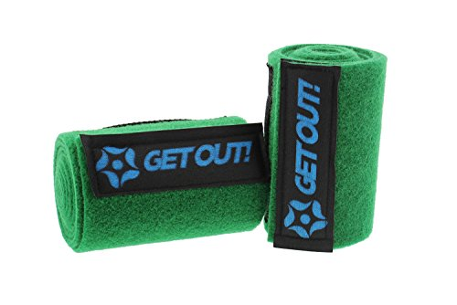 Get Out!! Tree Protector Wrap 2-Pack, 40'' x 6'' Inches - Tree Guards for Classic Slackline Rope or Hammock by Get Out!