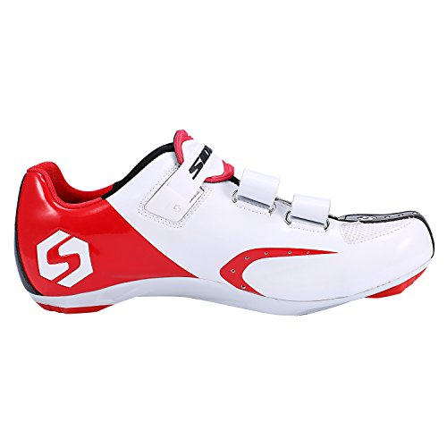 SUNVP Lightweight Cycling Shoes Durable Women's and Men's All Road Bike Racing Comfortable Spin Shoes