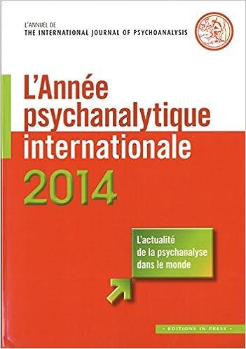 Téléchargement L'année psychanalytique internationale 2014 pdf, epub ebook
