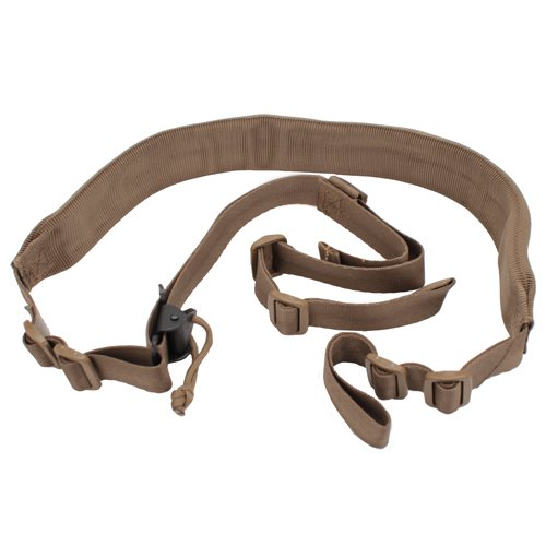Troy Industries SSLI-VTA-WPTT-00 Viking Tactics Wide Pad Sling, Tan ()