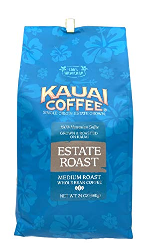 Kauai Coffee Single Origin Kauai Prime Grade Medium Roast Whole Bean - 1.5 lb