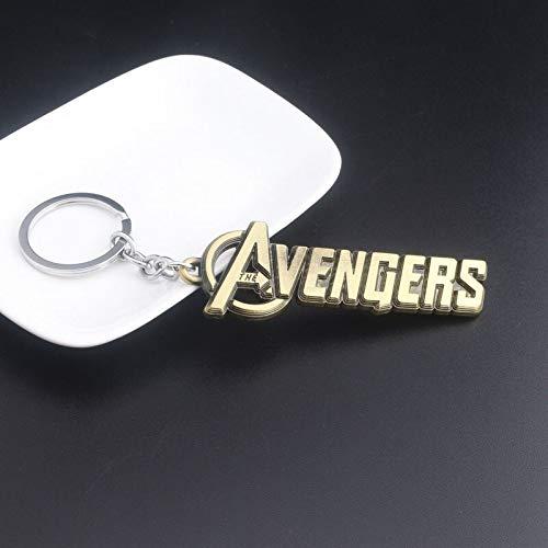 Marvel Jewelry - Llavero con escudo del Capitán Marvel, Los ...