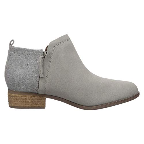 TOMS Drizzle Grey Suede Women